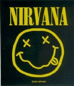 Nirvana - 'Smiley' Vinyl Sticker